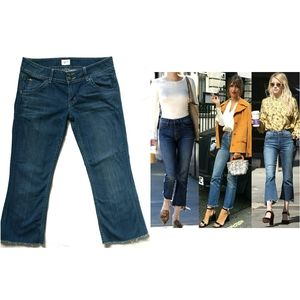 HUDSON Cropped bootcut jeans 29